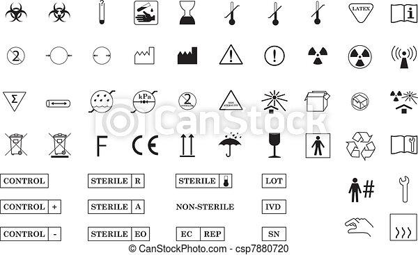 International Medical Symbols - csp7880720