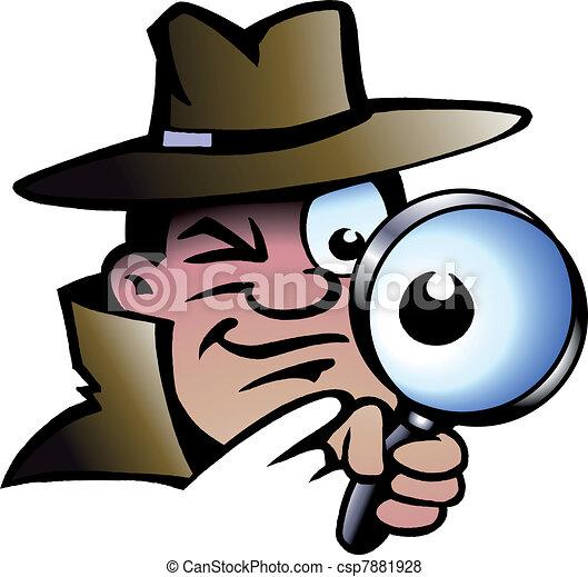 Inspector Detective - csp7881928