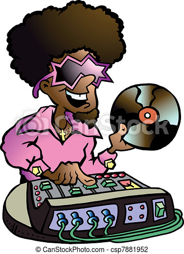 Disco DJ - csp7881952