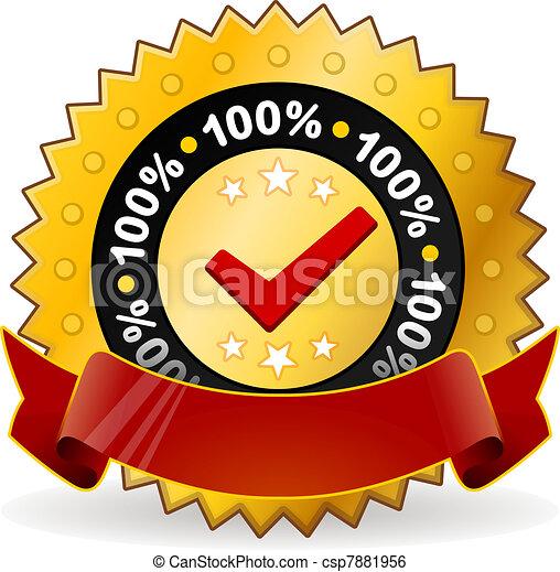 Satisfaction Warranty Label - csp7881956