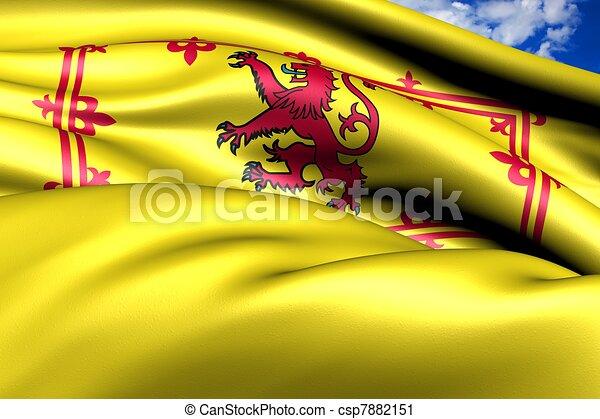 Royal Standard of Scotland - csp7882151