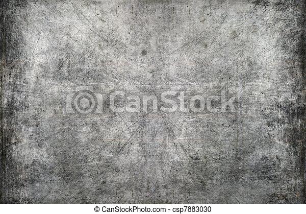 Scratched metal texture - csp7883030