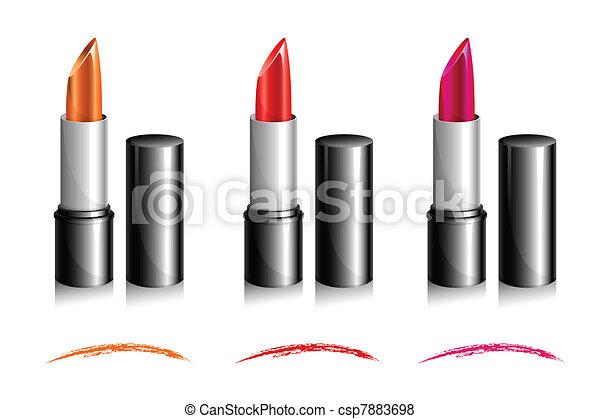 Lipstick Shades - csp7883698