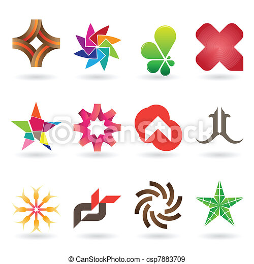 Contemporary Logo and Icon Collection - csp7883709