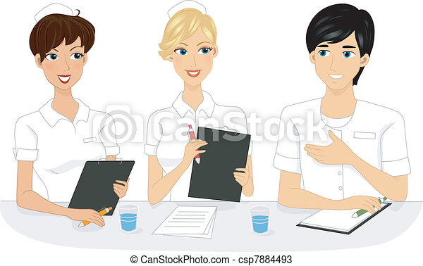 Nurse Meeting - csp7884493
