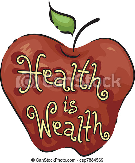 Health is Wealth - csp7884569