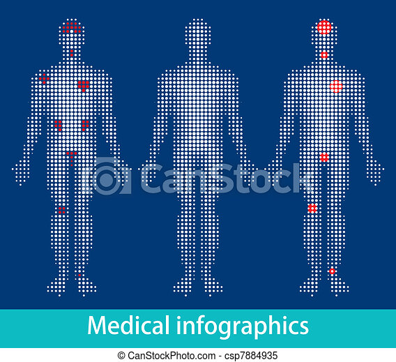 Medical info-graphics - csp7884935