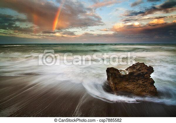 Rainbow Rock - csp7885582