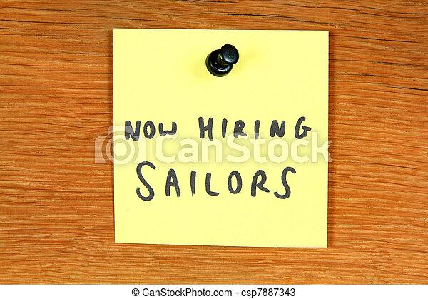 Sailor career