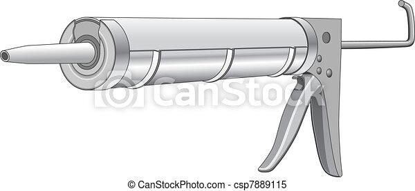 Caulk Gun - csp7889115