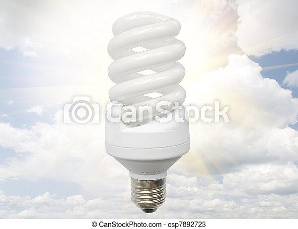 Fluorescent Light Bulb - csp7892723