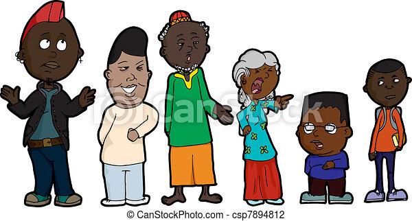 Family Problems - csp7894812