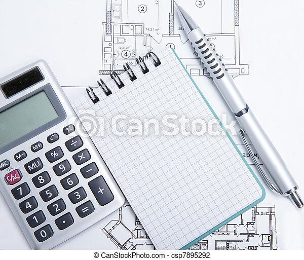 house scheme - csp7895292