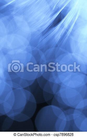 Fiber optics background - csp7896828