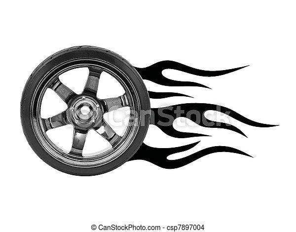 Hot Wheels Rubber Wheels Hot Wheels Csp7897004