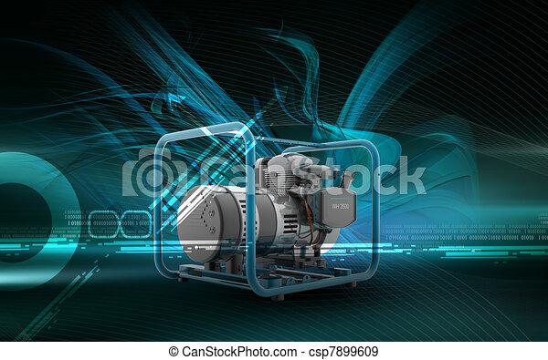 Generator  - csp7899609
