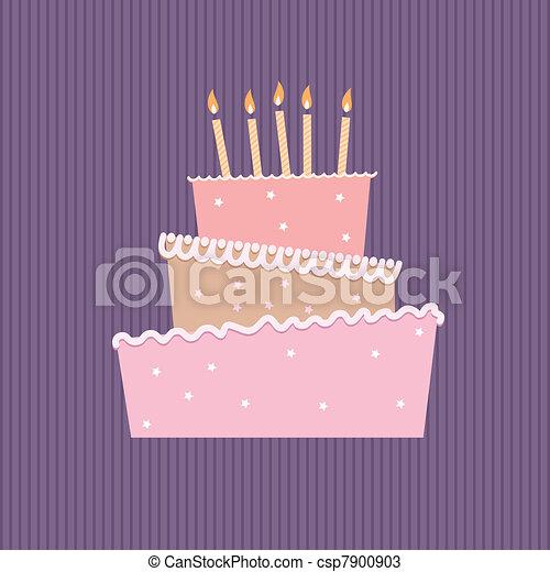 Birthday cake - csp7900903