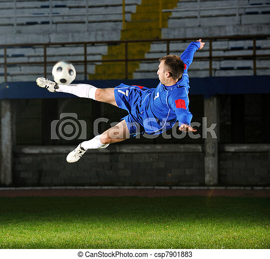 football player in action