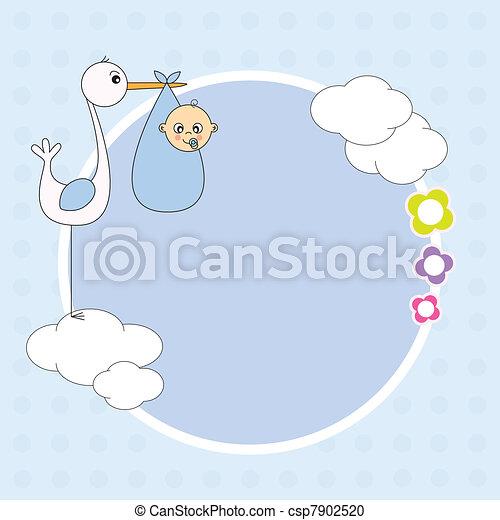 Frame baby boy - csp7902520
