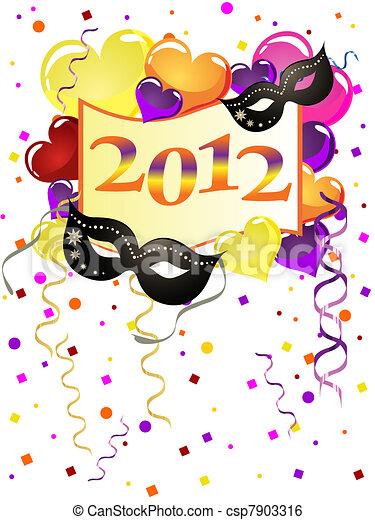 new years eve - csp7903316