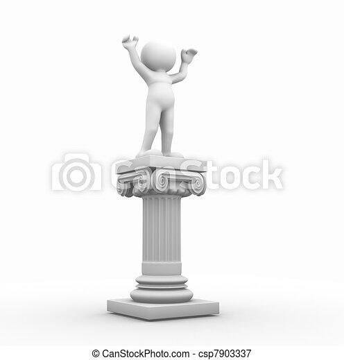Roman column - csp7903337
