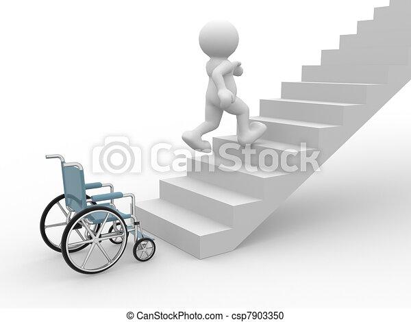 Wheelchair  - csp7903350