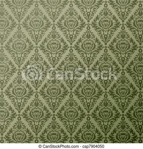 decor floral background - csp7904050