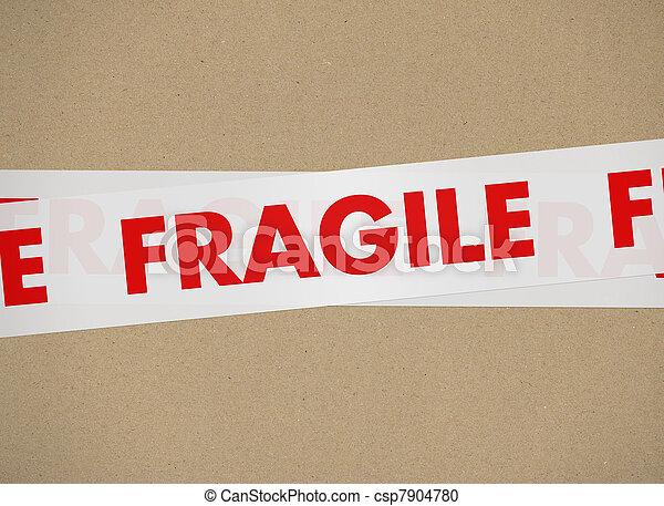 cardboard - Fragile - csp7904780