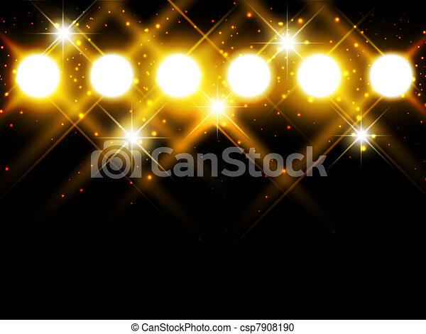 spotlights - csp7908190
