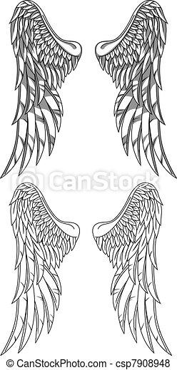 Vector wings - csp7908948