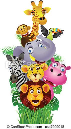Funny animals - csp7909018