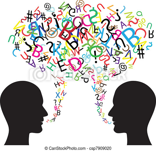 kommunikation, symbol - csp7909020