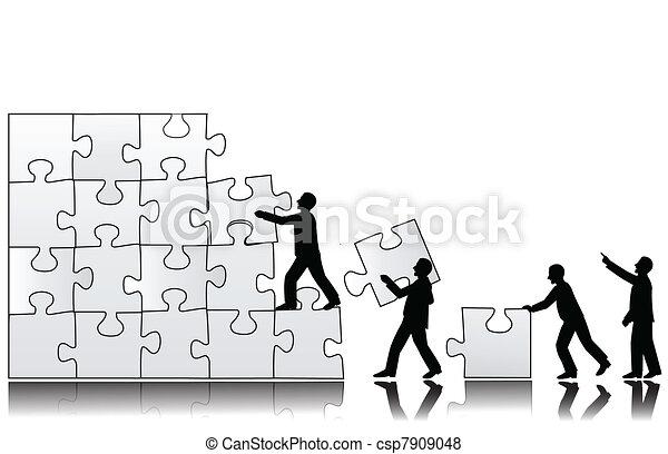 Teamwork concept - csp7909048