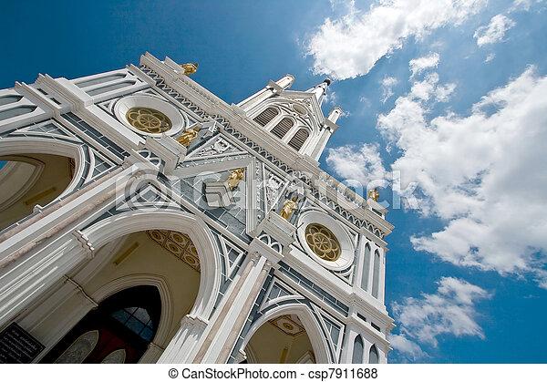 Europe Church In Thailand - csp7911688