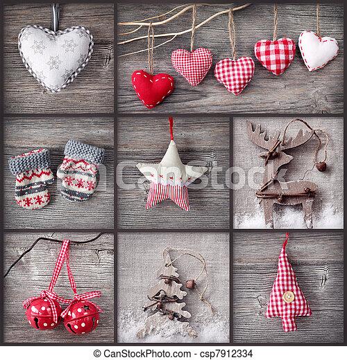 stock foto von collage weihnachten collage von. Black Bedroom Furniture Sets. Home Design Ideas