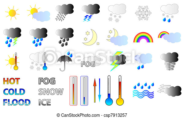 Weather Icons - csp7913257