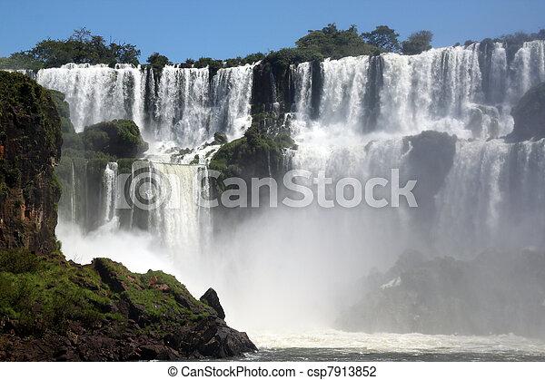 Iguazu falls - csp7913852