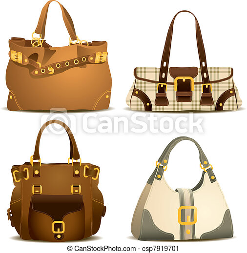 Woman Handbag Collection - csp7919701