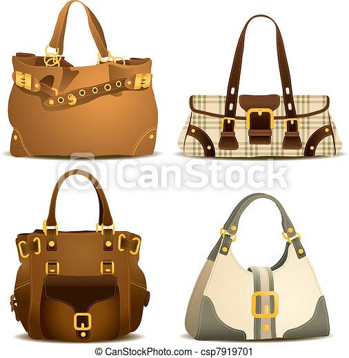 Woman Handbag Collection - csp7919701