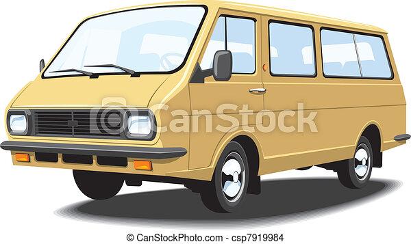 Mini bus - csp7919984