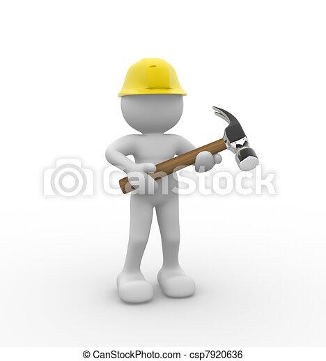 Hammer - csp7920636
