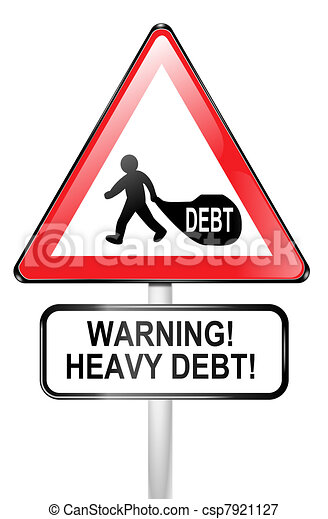 Debt warning. - csp7921127