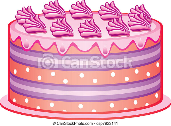 vector cake - csp7923141