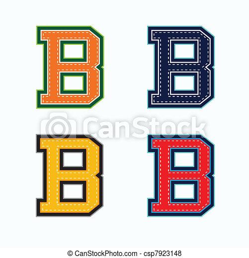 B college letter - csp7923148