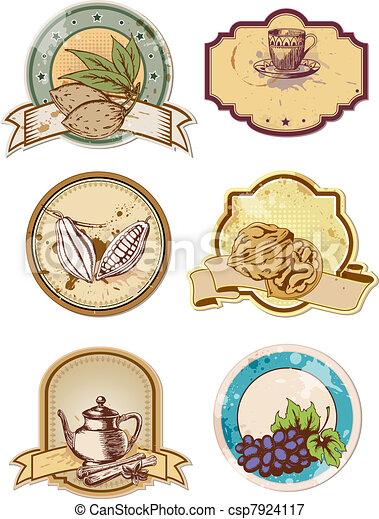 food labels - csp7924117