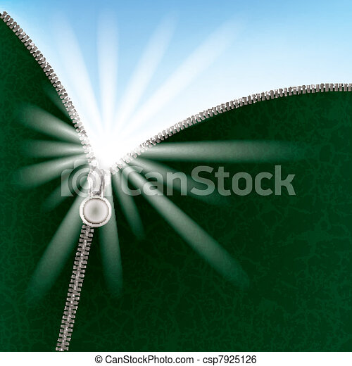 abstract background with sunlight and zipper - csp7925126