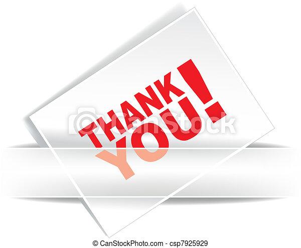Grateful card - csp7925929