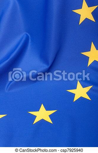 European Union Flag - csp7925940