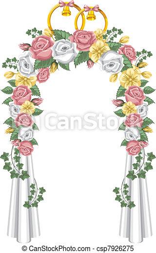 Wedding arch - csp7926275