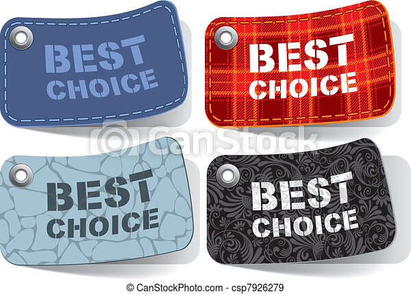 Best choice tags - csp7926279